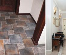 Керамическая плитка или плитка из природного камня для прихожей – идеальный вариант для современного дома