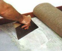 Клеевой способ укладки ковролина