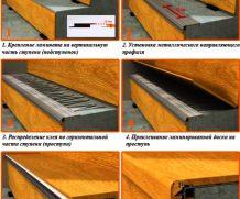 Обновляя лестницу: отделка ламинатом